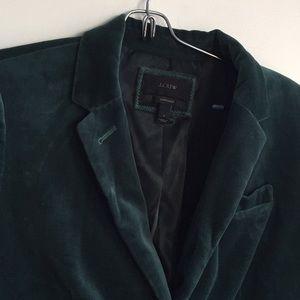 Emerald Green JCrew Blazer